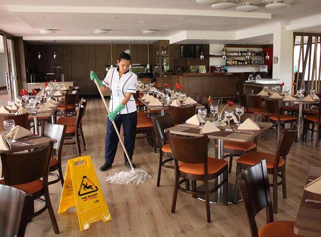 Limpieza de restaurantes pasos normativa y productos for Articulos para restaurantes