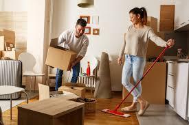 limpieza antes de entrar a una nueva casa