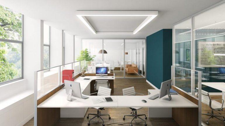 oficina limpia y ordenada