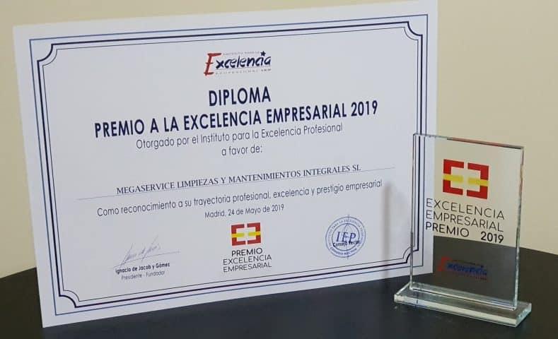 Premio a la excelencia 2019