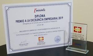 Premio excelencia empresarial Megaservice